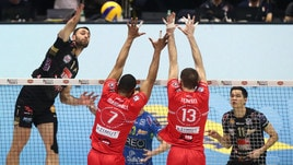 Volley: Coppa Italia, la Lube conquista la finale al tie break