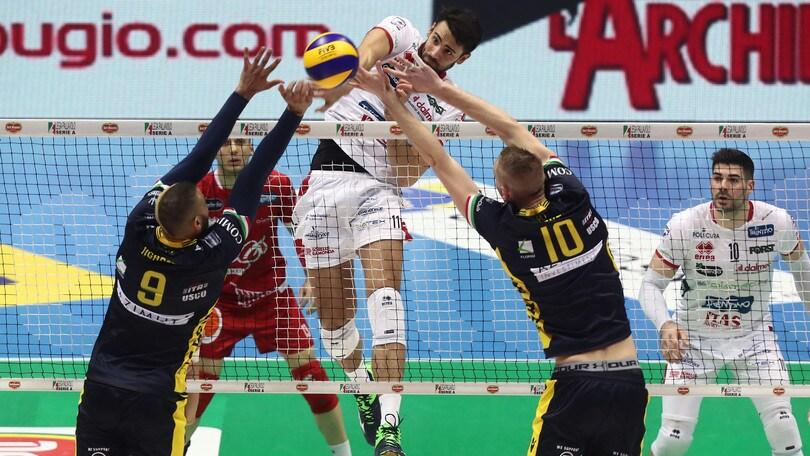 Volley: Coppa Italia, Trento domani sfiderà la Lube