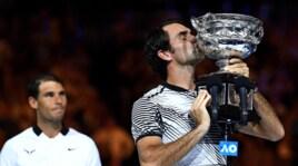 Australian Open: Federer show! Batte l'eterno rivale Nadal al quinto set