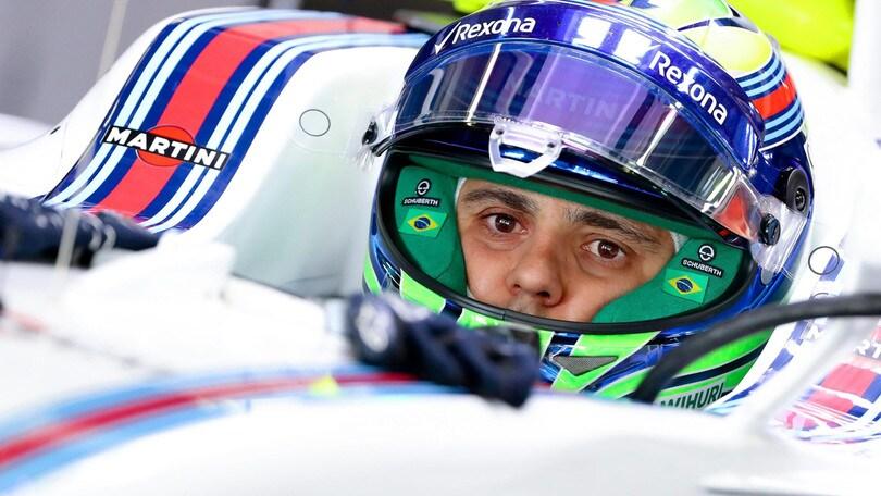 F1: Massa, test in Formula E con la Jaguar