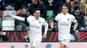 Serie A: Udinese-Milan 2-1, le immagini della vittoria di Delneri