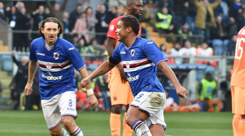Serie A, Sampdoria-Roma 3-2: scintille nel finale, la Juventus scappa