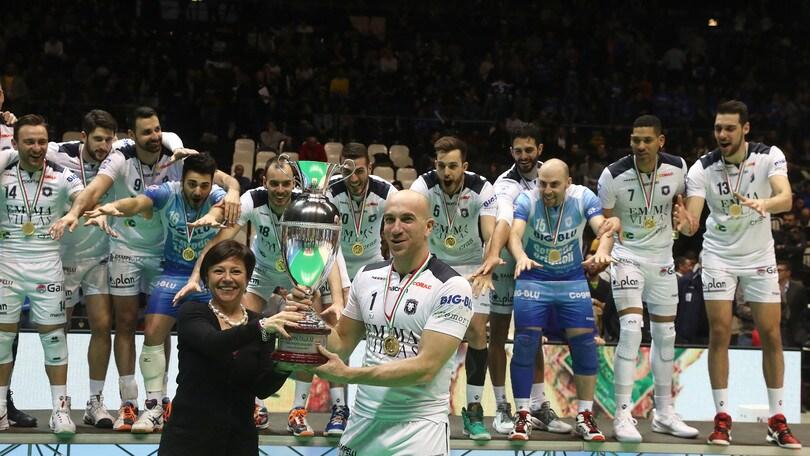 Volley: A2 Maschile, la Coppa Italia la alza Siena