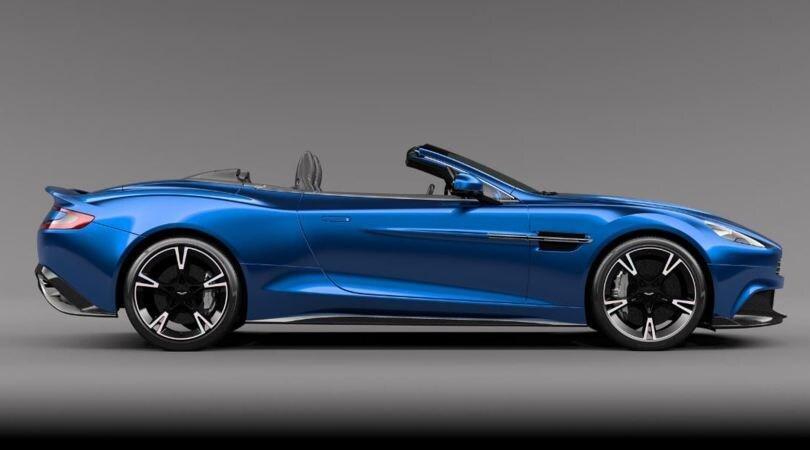 Aston Martin Vanquish S Volante: il non plus ultra cabrio
