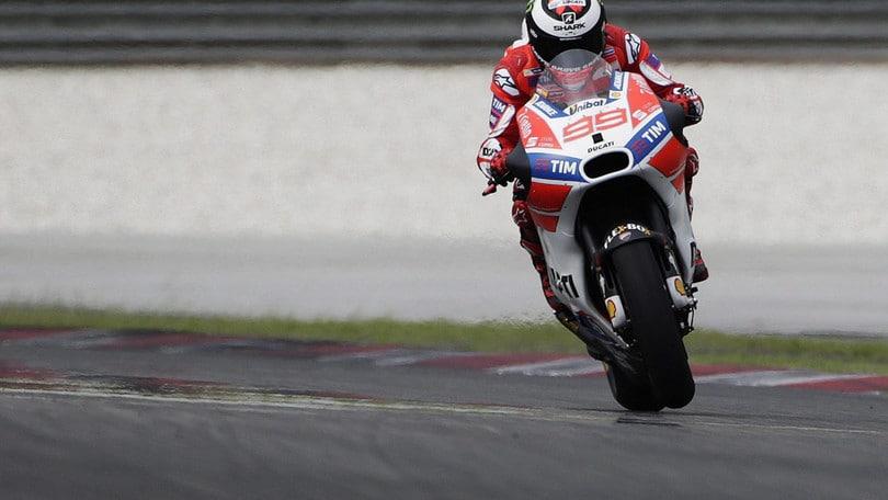 Lorenzo: Che progressi, inizio a capire la Ducati