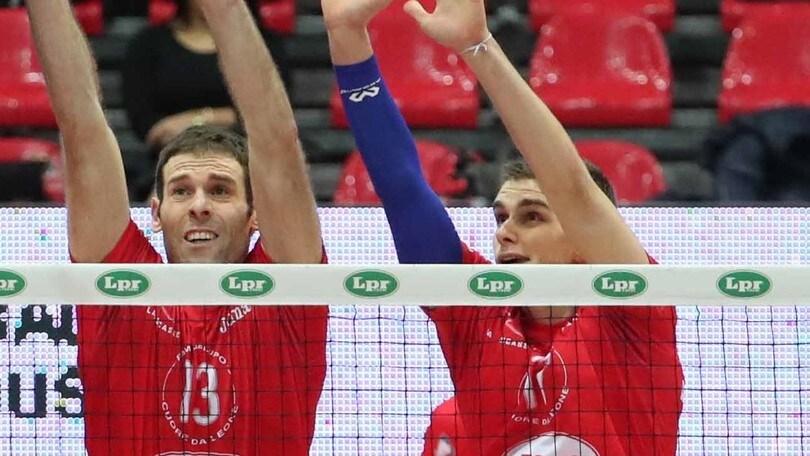 Volley: Coppa Cev, per Trento e Piacenza andata degli ottavi
