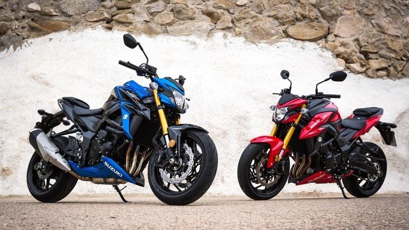 Suzuki, arrivano la V-Strom 650 e la GSX-S750