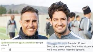 Calciomercato, Pato in Cina da Cannavaro: ironia sotto la foto