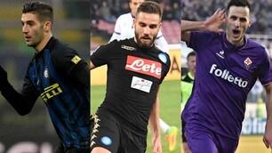 Top e flop del calciomercato: Inter su tutti, brilla la Fiorentina