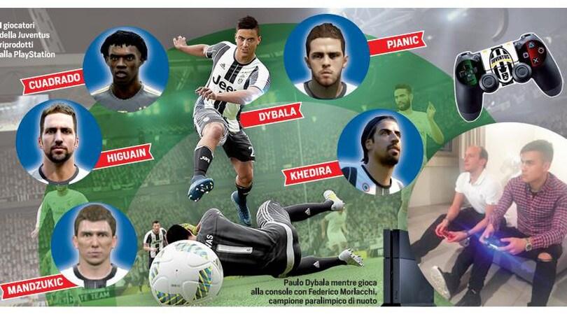 Una Juventus da playstation, con il modulo superoffensivo