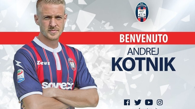 Calciomercato Crotone, preso Kotnik come jolly offensivo