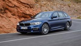 BMW Serie 5 Touring, per famiglie hi-tech e connesse