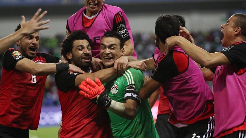 Coppa d'Africa, l'Egitto di Salah vola in finale