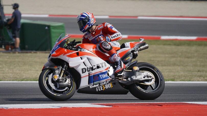 MotoGp Ducati, Lorenzo: «Ottimi progressi»