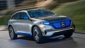 Mercedes, la gamma elettrica EQ si avvicina
