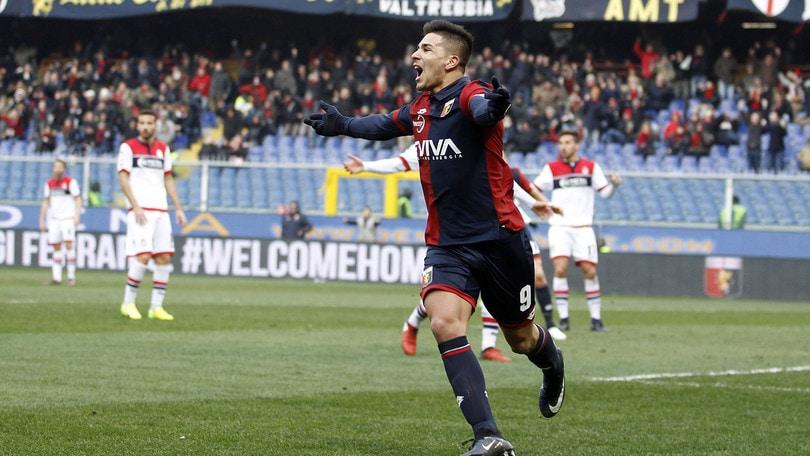 Calciomercato Genoa, Simeone: «Mai pensato di andare via. Sono felice qui»
