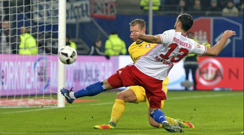 Bundesliga, Bayer Leverkusen ko: l'Amburgo vince di misura
