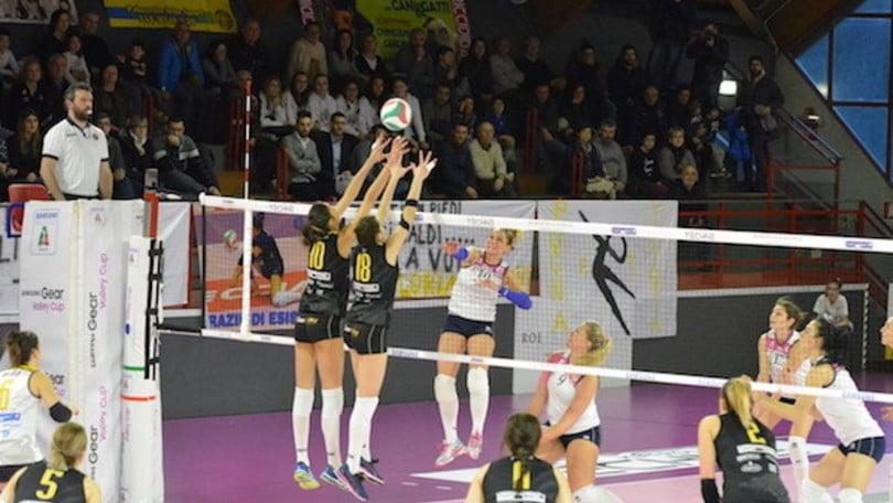 Volley: A2 Femminile, Filottrano fa 17, Pesaro supera Caserta