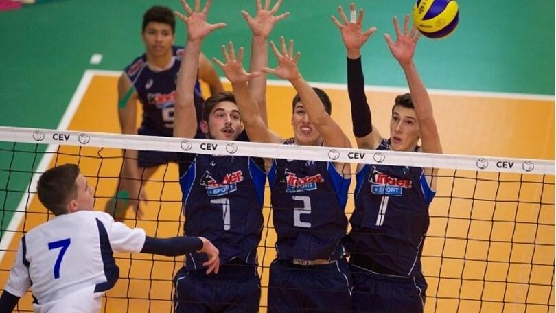 Volley: Europei U19 Maschile, girone duro per gli azzurri