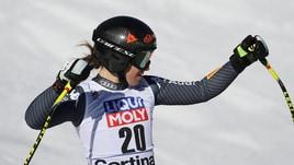 Sci Alpino, Mondiali: a St.Moritz Goggia sul podio a 2,25