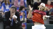 Coppa Davis, Ko Canada: decide la pallina che ha colpito l'arbitro