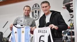 Juventus, ospite d'onore: a Vinovo arriva Bauza