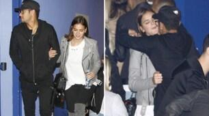 Neymar, relax al cinema insieme alla sua Bruna