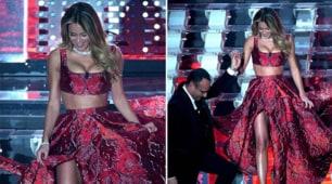 Splendida Diletta Leotta alla prima serata di Sanremo