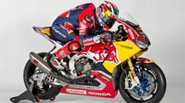 """Red Bull fa """"volare"""" il Team Honda SBK: foto"""