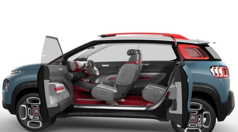 citroen c aircross concept nuova avantgarde suv corriere dello sport. Black Bedroom Furniture Sets. Home Design Ideas