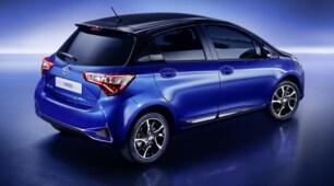 Nuova Toyota Yaris: foto