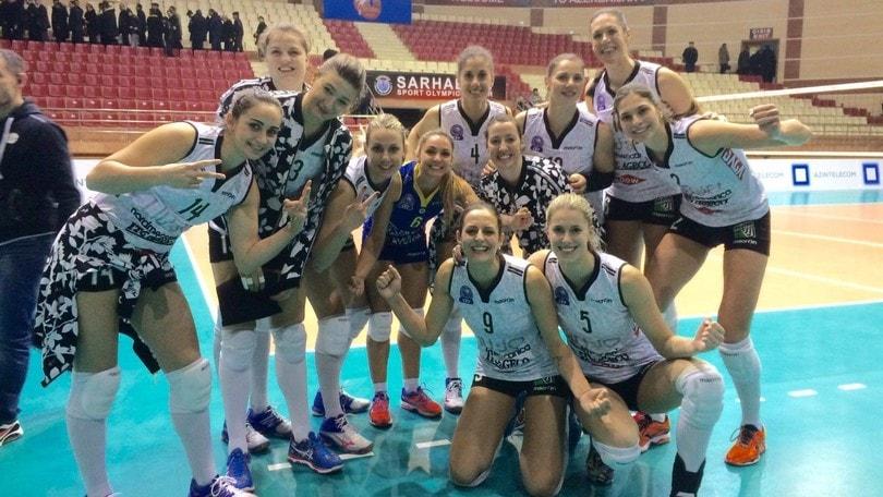 Volley: Champions Femminile, Modena vince a Baku e stacca il pass per i Play Off