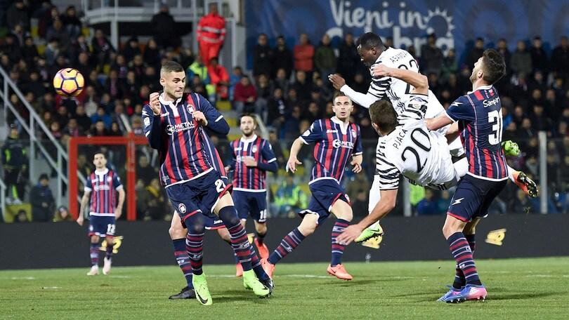 Juventus e Crotone é válido pela 14º rodada do Italiano