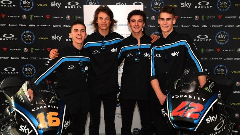 Sky Racing Team, impegno raddoppiato per il 2017