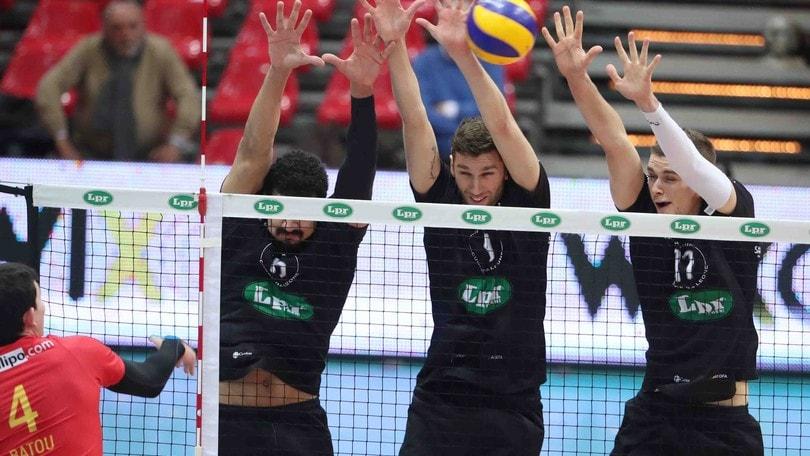 Volley: Superlega, Piacenza batte Vibo nel posticipo