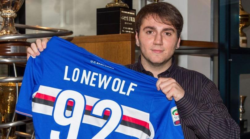 Sampdoria, acquistato Lonewolf: giocherà da casa...