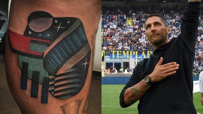 Materazzi, il nuovo tatuaggio è un tributo a San Siro