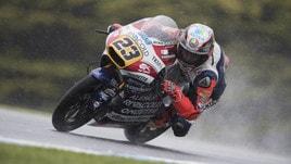 Moto3 Red Bull KTM Ajo, Antonelli: «Devo capire di più la moto»