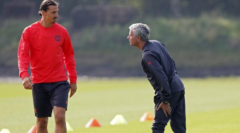 Calciomercato Manchester United, Mourinho: «Ibrahimovic resterà con noi»