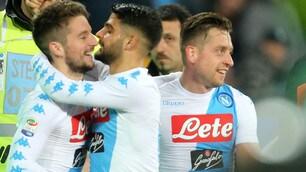 Napoli-Genoa 2-0: due squilli al Real con Zielinski e Giaccherini