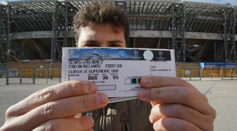 Champions, febbre Real: da Napoli la carica dei 10 mila