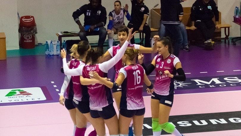 Volley: A2 Femminile, per Palmi primo successo nel ritorno