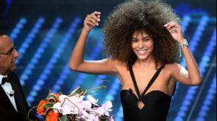 Tina Kunakey strega Sanremo: è il nuovo amore di Cassel