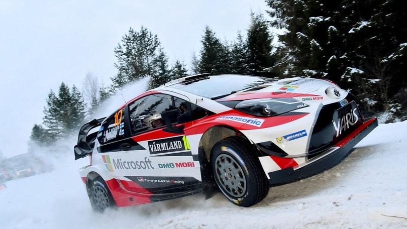 Rally, in Svezia vince Latvala