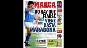 """Champions League, media spagnoli: """"Non c'è da fidarsi, viene pure Maradona"""""""
