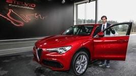 Alfa Romeo Stelvio e Antonio Giovinazzi: foto