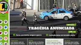 Tragedia a Rio: un morto e otto feriti prima di Botafogo-Flamengo