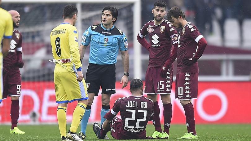 Serie A Torino, attesa per Obi. Valdifiori influenzato