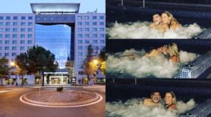 """Il """"Palazzo Real"""" che ospita il Napoli. Maradona se lo sta già godendo"""