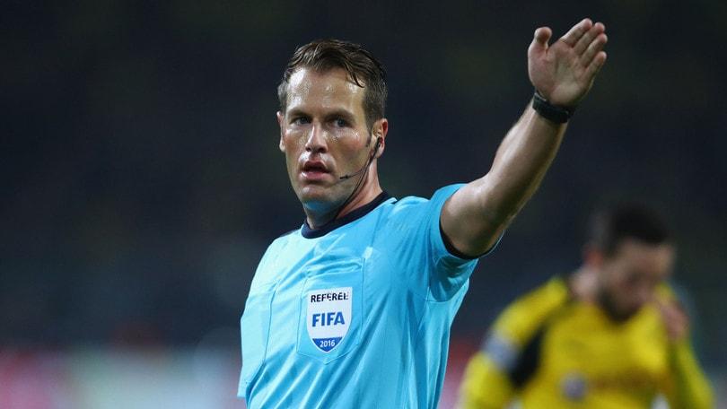 Europa League Villarreal-Roma, dirige Makkelie. Fiorentina-Borussia M.: Manzano